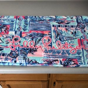 Lilly Pulitzer beach towel, set of 2